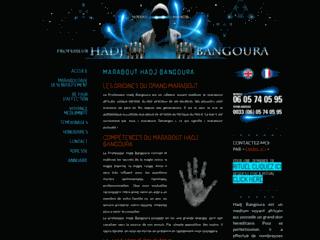 Le professeur Hadj Bangoura