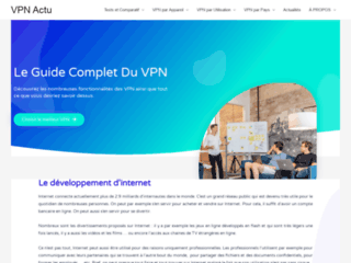 Détails : VPNactu, pour trouver le meilleur vpn sur la toile