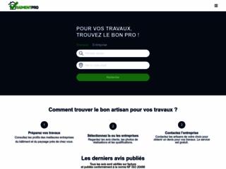 Trouvez le bon pro pour vos travaux ! VraimentPro référence des artisans dans toute la France