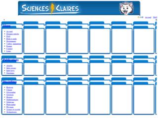 Sciences Claires