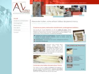 Détails : Tailleur de pierre à Irancy dans l'Yonne