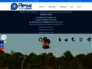 Détails : Wake Park Plessé - Téléski nautique : wakeboard et ski nautique - Loire Atlantique