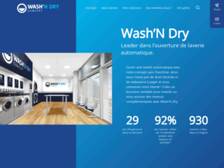 Wash'N Dry Laverie sans franchise