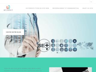 Informations sur la création des sites web