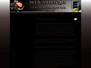 Détails : Web-Arnaque : Arnaques sur Internet