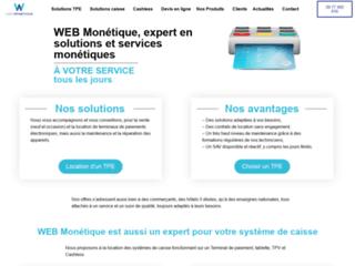 WEB Monétique Location de lecteurs cartes bleues