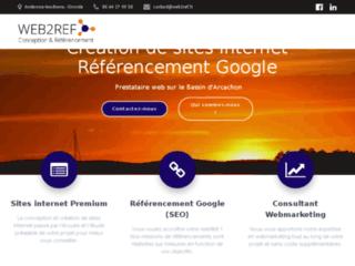 Création de sites internet dans le bassin d'Arcachon