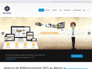 Détails : agence SEO au Maroc