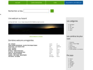 Webcams - répertoire et cartes - via france-webcams.com