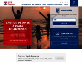 Caution de loyer en Suisse avec Webcaution.ch