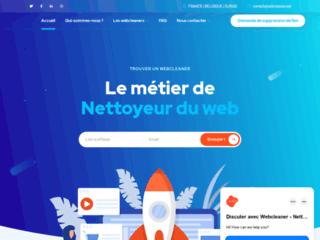 Trouver un webcleaner pour nettoyer du contenu web