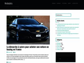 Webdatis, agence référencement et création sites