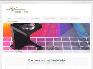 Détails : Objets publicitaires - Webkado