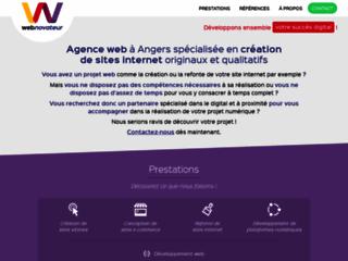 Agence web de création de sites internet sur-mesure à Angers, 49