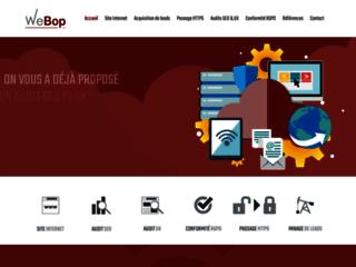 WeBop : créez et valorisez votre site internet