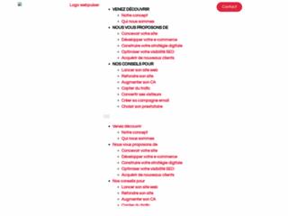 Détails : Agence ecommerce Webpulser Lille