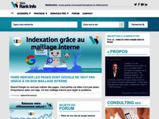 WebrankInfo