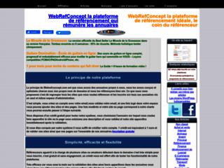 Plateforme de référencement web
