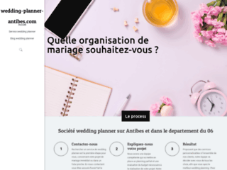 Détails : Wedding Planner à Antibes