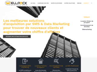 Wellpack Business Data, le prestataire de campagne SMS marketing