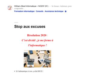Formation, informatique, Conseils, Assistance technique, Dépannage à domicile - NOZAY en Essonne