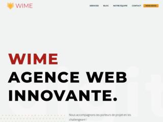 Agence web innovante : ingénierie, web et marketing - WIME