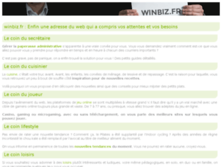 Winbiz coaching d'affaires