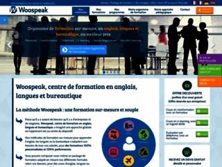 Les formations bureautique et langue avec Woospeak