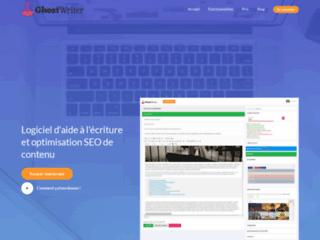 Détails : Ghost Writer: logiciel d'aide à la rédaction web
