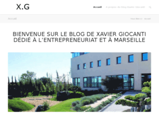 Blog de Xavier Giocanti