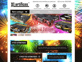 XL-Artifices - Boutique de feu d'artifice vente en ligne