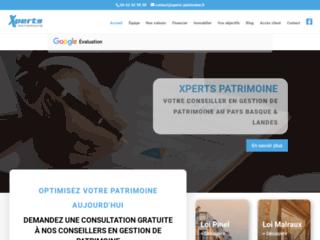 Xperts Patrimoine : gestionnaire de patrimoine