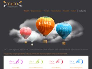 Détails : YACO, spécialiste du site internet sur mesure
