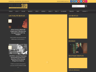 Détails : Yellow-sub.net : la vie et l'oeuvre des Beatles