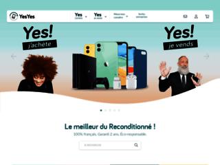 Détails : Yes Yes, boutique de vente de smartphones d'occasion