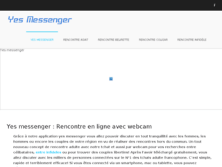 Détails : Yes messenger, rencontre en ligne avec webcam