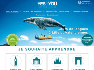 Yes N You, solutions innovantes de formations en langues