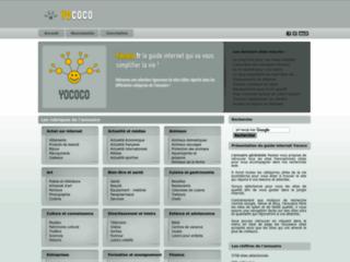 Détails : Yococo, Guide web gratuit