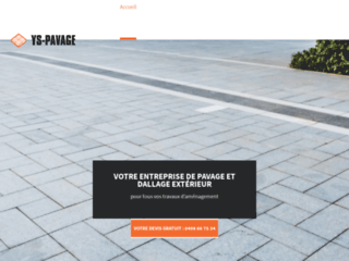 YS-PAVAGE, spécialiste de l'aménagement extérieur