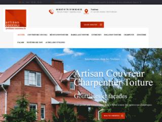 Artisan couvreur en Yvelines 78 tous travaux de toiture et charpente