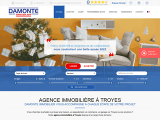 Damonte Immobilier | Agence immobilière à Troyes