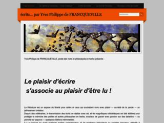 Ecrits par Yves Philippe de FRANCQUEVILLE