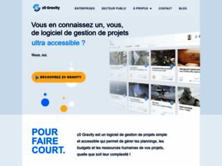 z0 Gravity, logiciel de gestion de projets simples et complexes