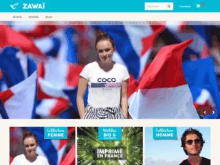 Détails : Zawaï, T-shirt original et tendance