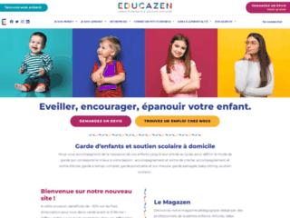 Zazzen, spécialiste de la garde d'enfants