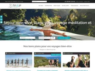 Les voyages de bien-être avec l'équipe Zen&go