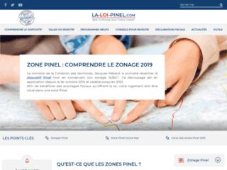 Zone Loi Pinel