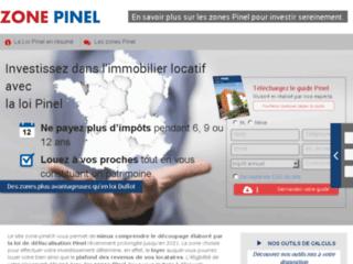 Les zones en loi Pinel 2015