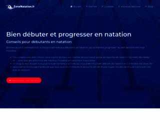 Détails : Zone Natation : commerce d'équipements de natation