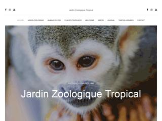 Détails : Parc animalier et jardin botanique tropical